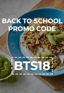 Back to School promo code