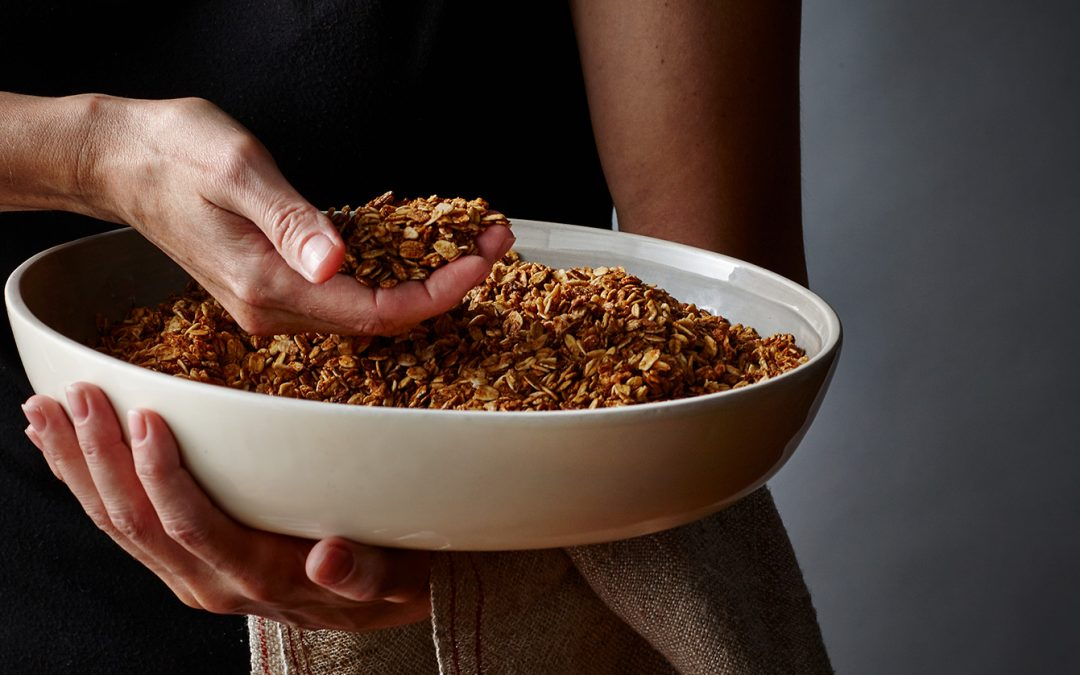Why choose to manufacture our own granolas?