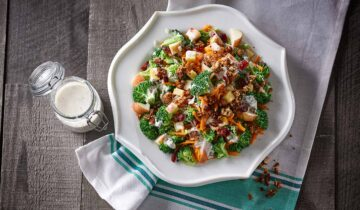 Broccoli, Apple and Gluten-Free Granola Salad